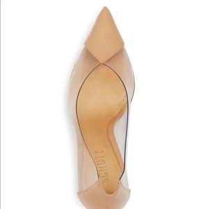 NWOT Schutz Nude PVC heels 👠